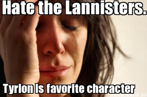 Game of Thrones problems…