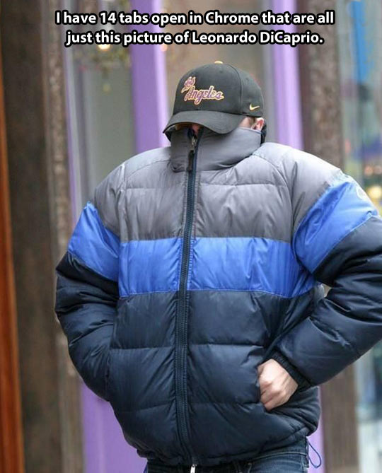 funny-Leo-DiCaprio-frozen-cold-jacket