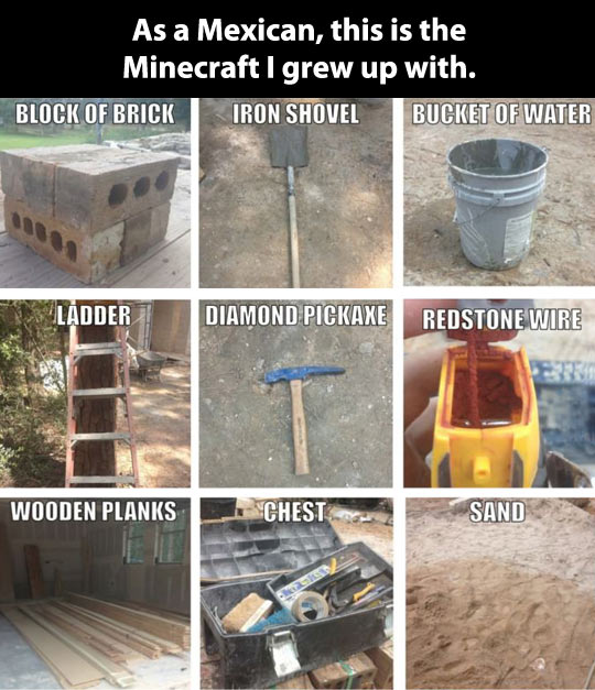 The Minecraft I grew up with…