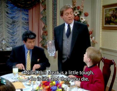 Niles telling it like it is…