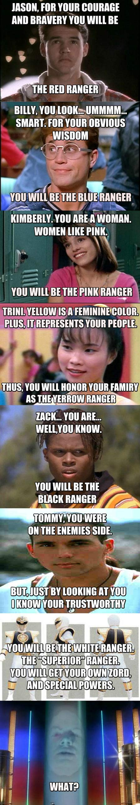 How Zordon chose the Power Rangers…