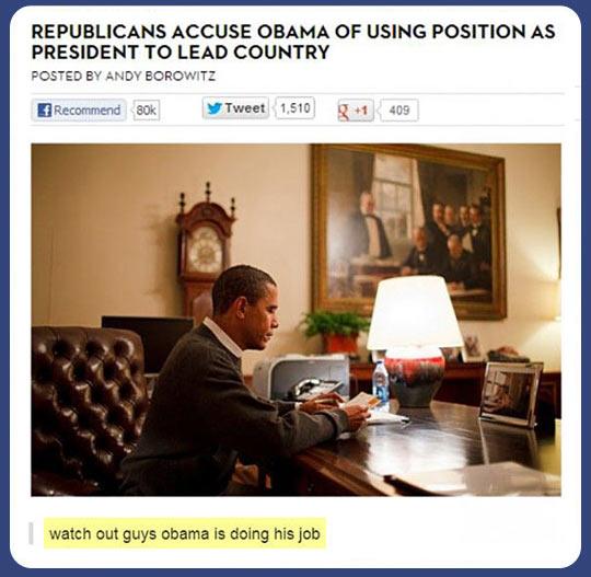 How dare you, Obama…