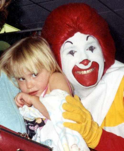 Awkward McDonald's birthday party…