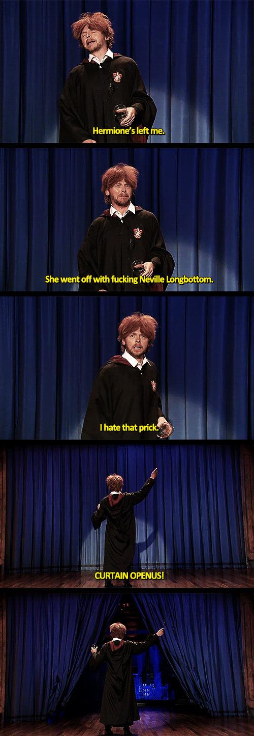 funny-Simon-Pegg-Drunk-Ron-Weasley