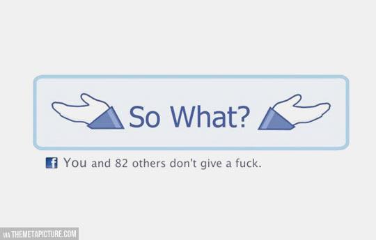 Facebook's new button…