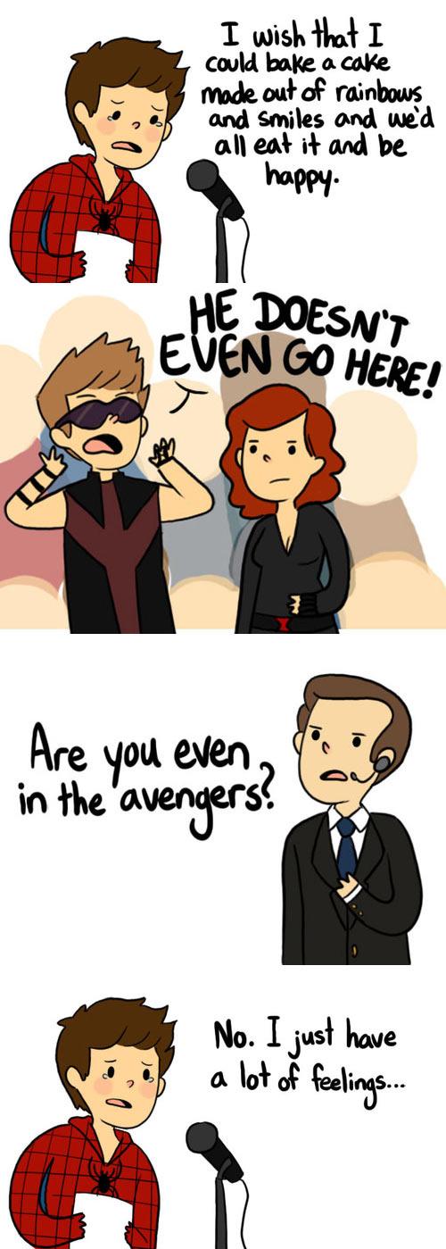 funny-Spiderman-The-Avengers-feelings