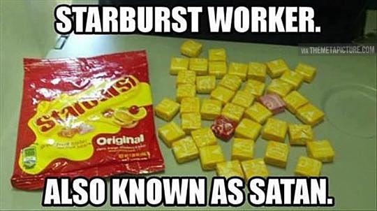 funny-Starburst-candy-same-color