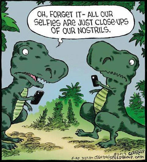 T-Rex can't catch a break…