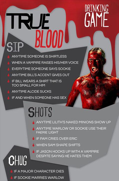 True Blood drinking game…