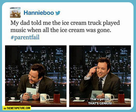 Why the ice cream truck plays music…