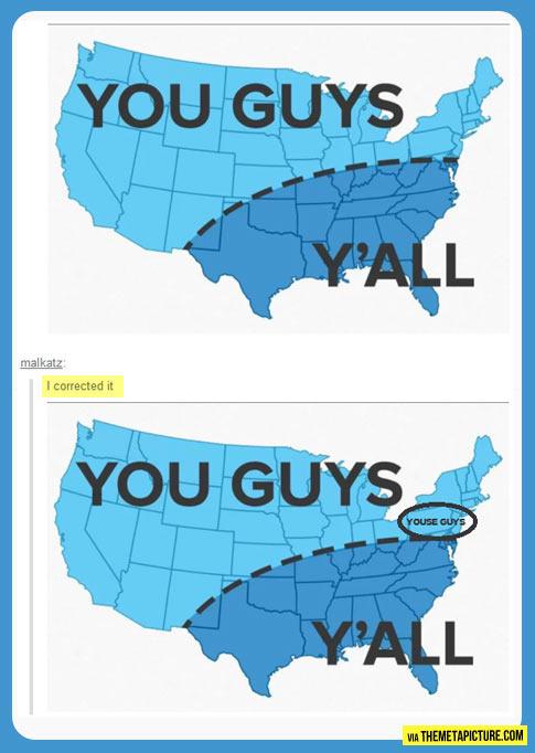 'You guys' USA chart…