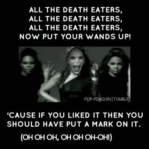 All the death eaters…