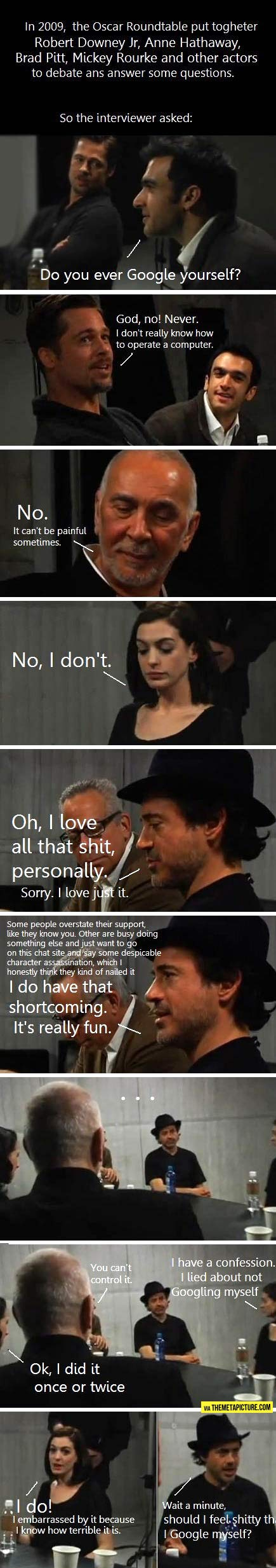 Yet another reason to love Robert Downey Jr…