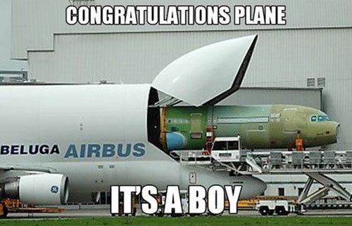 Where airplanes come from…