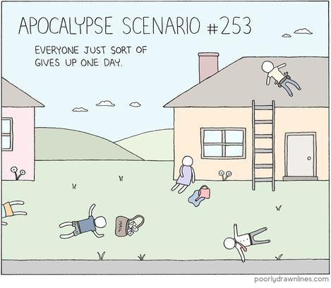 Apocalypse scenario…