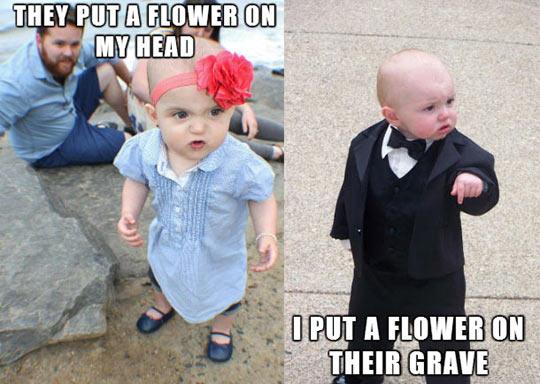 funny-baby-flower-head-grave-mafia