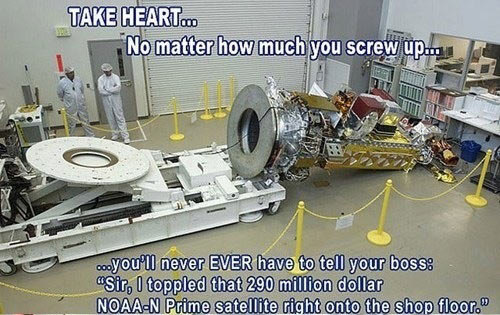 No matter how much you screw up…