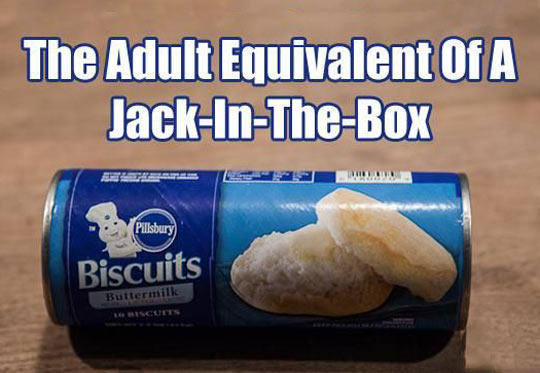 Jack in the Box for adults…