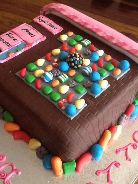 Candy Crush Cake…