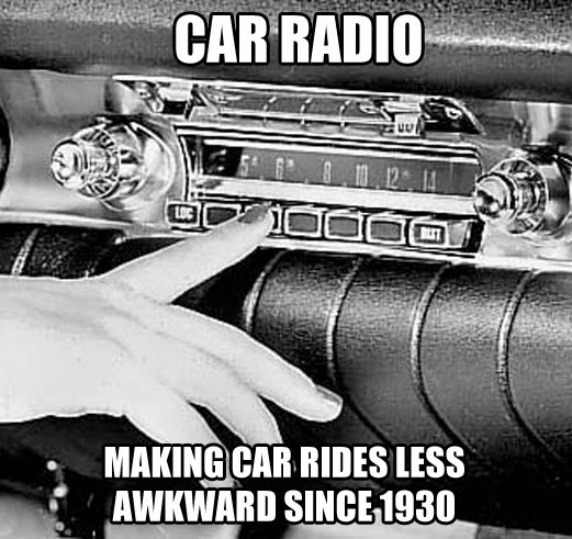 As a quiet guy who has to carpool, I can confirm this…
