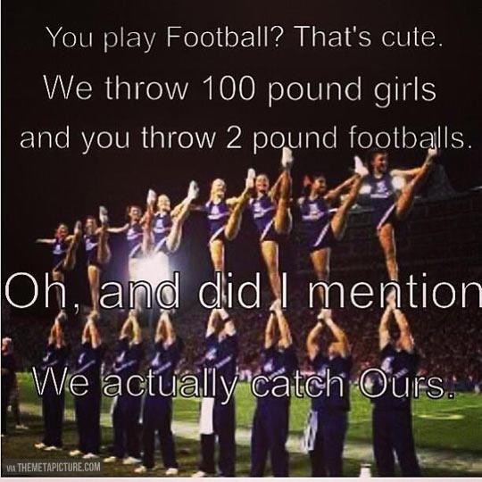Male Cheerleading…