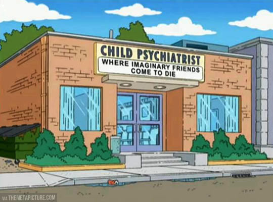 funny-child-psychiatrist-Simpsons-imaginary-friends