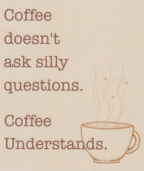 Thank you, coffee…