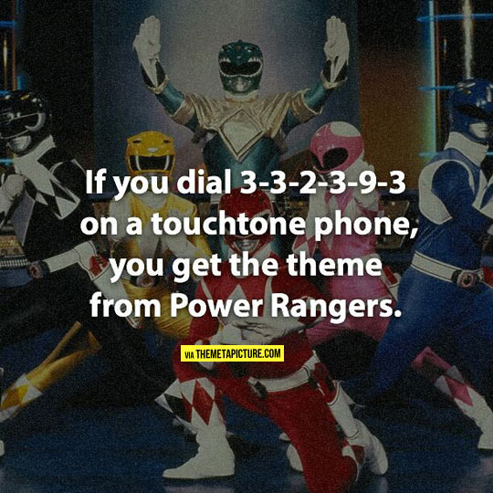 funny-dial-phone-Power-Rangers-theme
