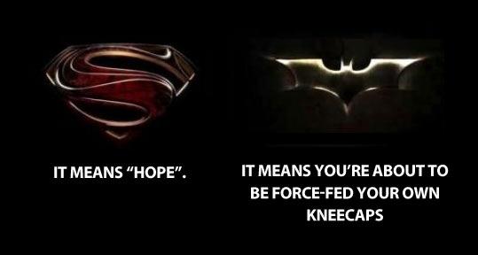 Superman vs. Batman…