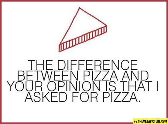 That's the difference…