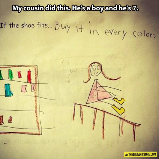 funny-draw-child-shoe-color