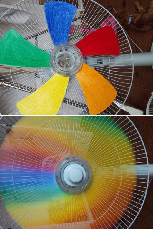 Just a fan creating some rainbow awesomeness…