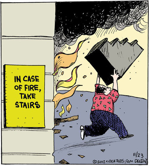 funny-fire-stair-running-comic