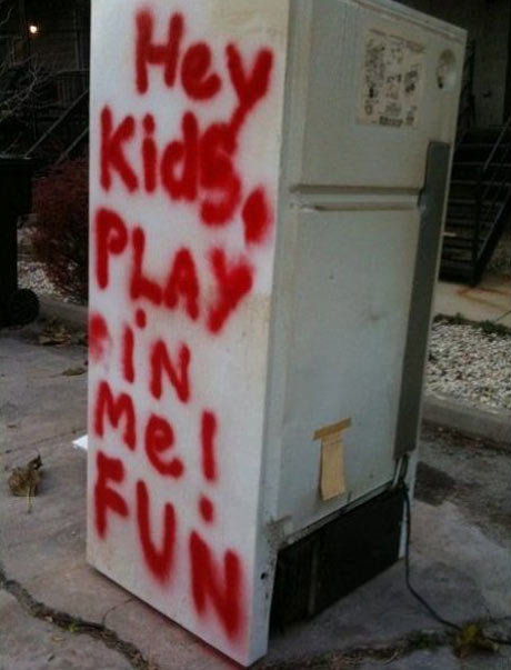 Play with me, kids…