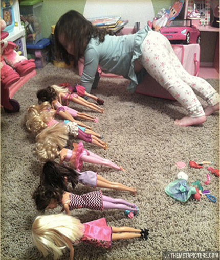 funny-girl-exercise-Barbie-camp