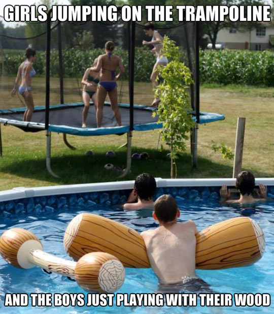 funny-girls-trampoline-guys-pool