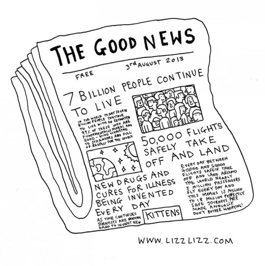 The good news you never read about…