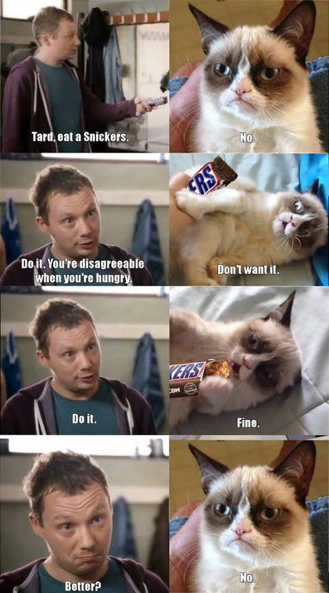 Eat a Snickers, Tard…