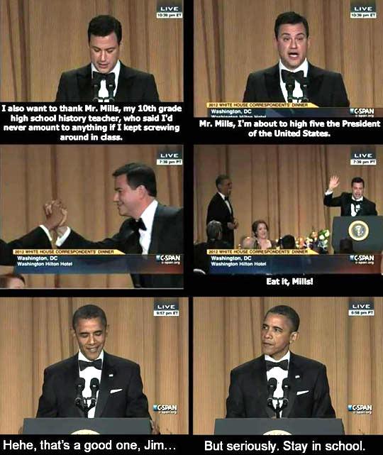 funny-high-five-President-Barack-Obama