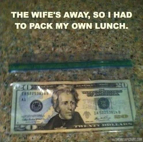 funny-husband-alone-lunch-money