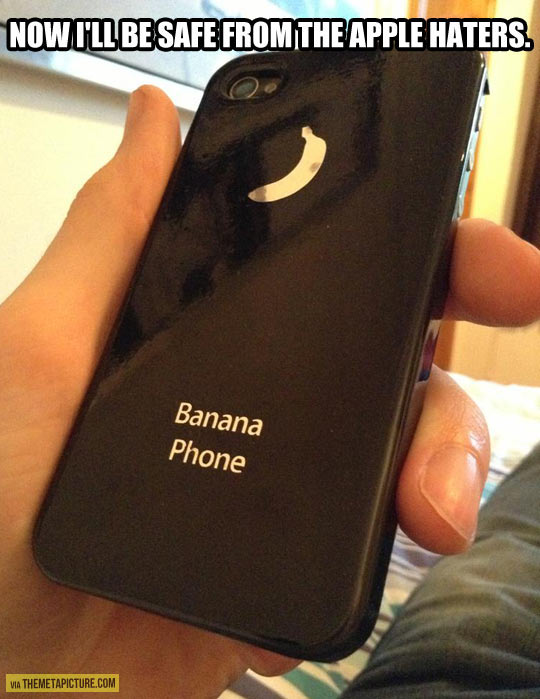 Just bought a new phone case…