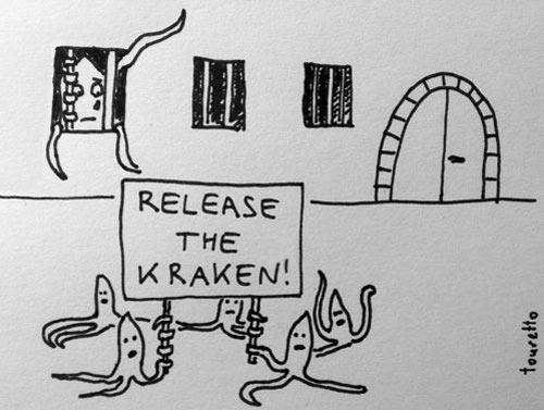 Release him already…