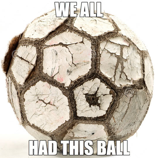 If you played street football as a kid…