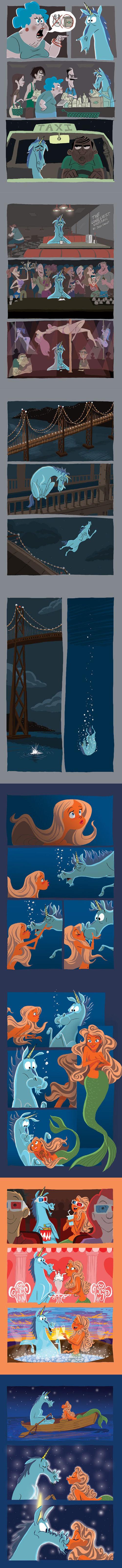 funny-lonely-unicorn-mermaid-comic