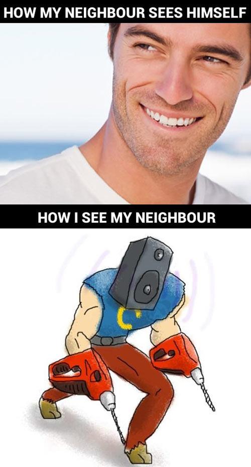 funny-neighbour-noise-man