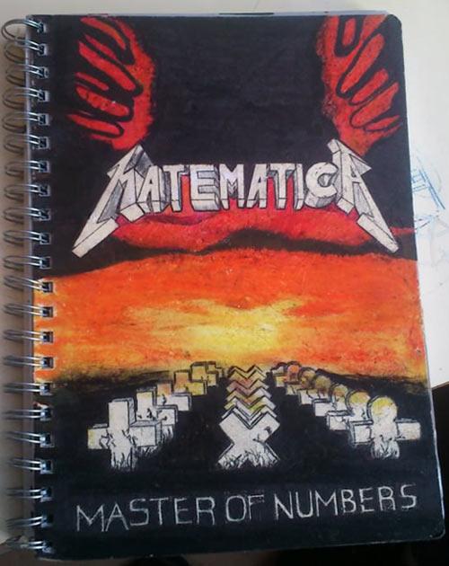 funny-notebook-Metallica-art