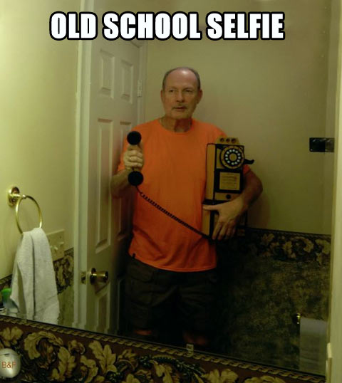 Old School Selfie…