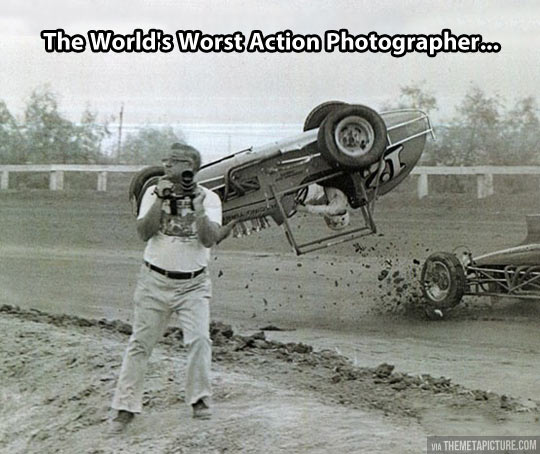 Action photographer…