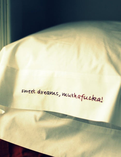 Sweet dreams are made of this…