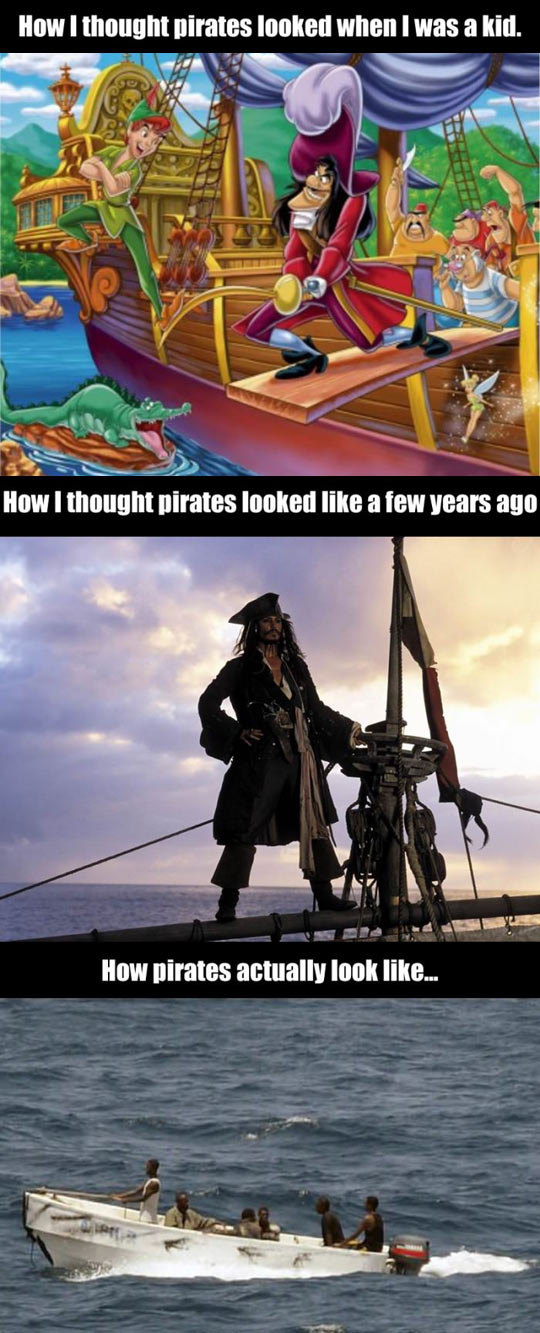 How pirates actually look like…